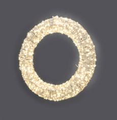 LED Kranz, 46.5 cm