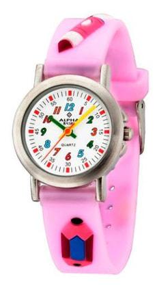 AB Kids Schule pink Armbanduhr