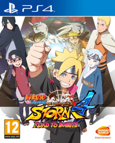 PS4 - Naruto Ultimate Ninja Storm 4: Road to Boruto (GOTY)