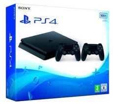 Sony PlayStation 4 500GB Black 2xDS4