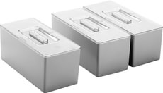 Couvercle pour caiser modulaire, 26.2 x 12.1 cm
