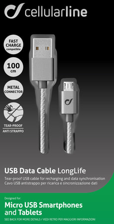 Micro USB Data Cable LongLife