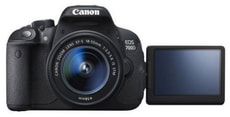 Canon EOS 700D + 18-55mm IS STM + 55-250