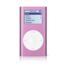 APPLE IPOD MINI 4GB PINK