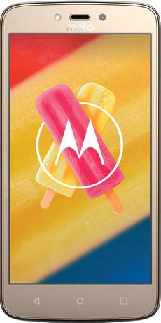 Moto C Plus 16GB gold