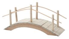 Mini-Gardening Holzbrücke