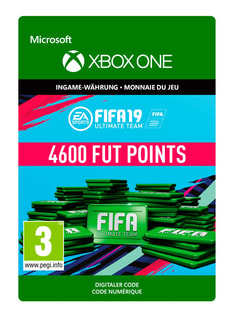 Xbox One - Fifa 19 Ulitmate Team 4600 Points
