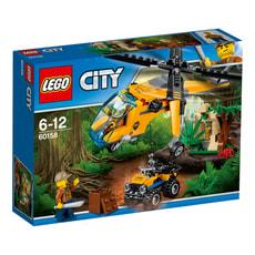 LEGO City Dschungel-Frachthubschrauber 60158