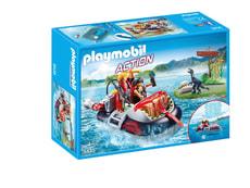 Playmobil Luftkissenboot mit Unterwassermotor