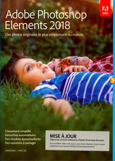 PC/Mac - Photoshop Elements 2018 Upgrade (F)