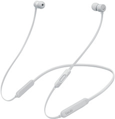 BeatsX Earphones, Satin Silver
