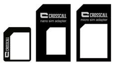 SIM Card Adaptor nano/micro/mini noir