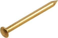 Messingstift Halbrundkopf