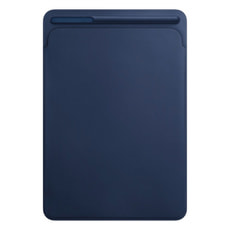 Étui en cuir pour iPad Pro 10,5 pouces - Bleu nuit