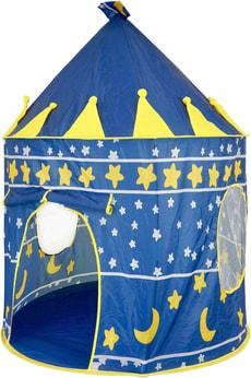 Mongolisches Jurten Zelt blau