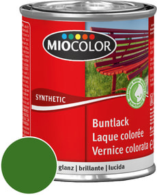 Synthetic Buntlack glanz