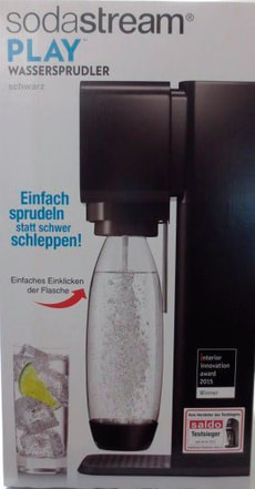 SODASTREAM PLAY SCHWARZ - SELLOUT 2016