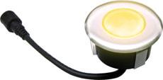 EASY CONNECT LED Spot à encastrer bois,  Ø 7,5 cm