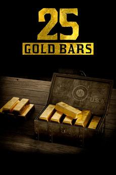 Xbox One - Red Dead Redemption 2 - 25 Goldbarren