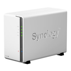 Synology DS214se 2bay NAS inkl. 2x 2TB HDD WD RED, 24x7, 5400-7200rpm