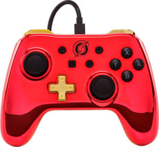 Chrome Controller Red Samus