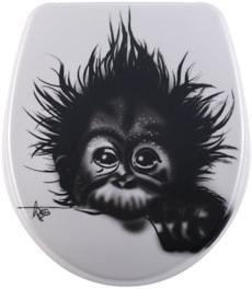 Siège de WC Nice Monkey