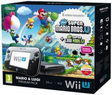 Wii U Konsole 32GB inkl. Super Mario Maker, Artbook & Amiibo Mario