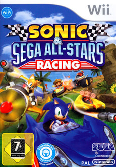 Wii - Sonic + Sega All-Stars Racing