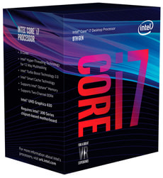 Prozessor i7-8700 6x 3.2 GHz - Coffee-Lake Sockel 1151 boxed