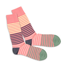 DILLY SOCKS Pink Four Ever