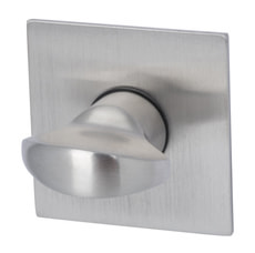 Schlüsselrosetten Plano WC eckig
