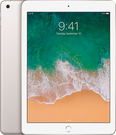 iPad WiFi 128GB silver