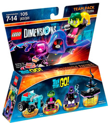 LEGO Dimensions Team Pack - Teen Titans Go