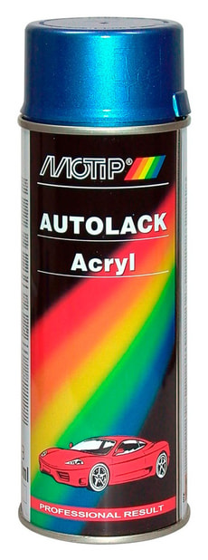 Acryl-Autolack 54545 blau metallic