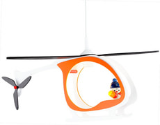 Kinderhängeleuchte Hubschrauber