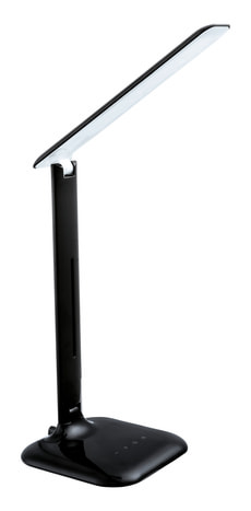 LED Lampe de table Caupo noir