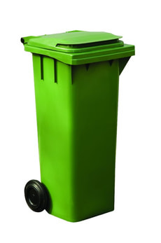 ESE Rollcontainer 140l grün