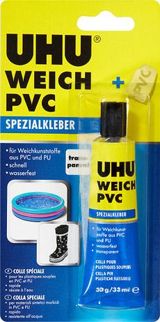 Colle spéciale PVC souple