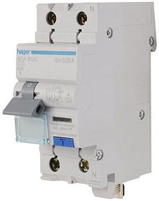 Disjoncteur automatique différentiel 10A 30mA