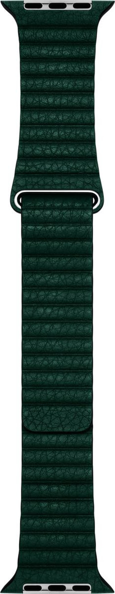 44mm Forest Green Leather Loop Large