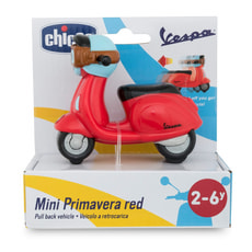 Chicco Turbo Team Vespa rot