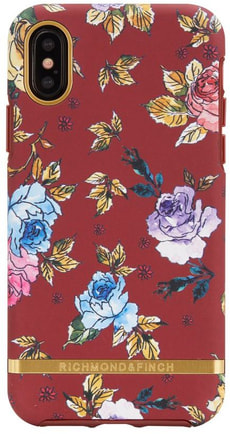 Case Red Floral