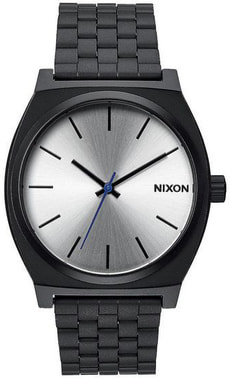 Time Teller Black Silver 37 mm