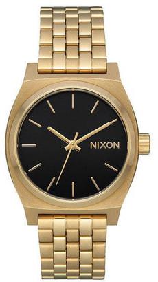 Medium Time Teller Gold Black 31 mm