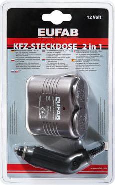 KFZ-Steckdose 2 in 1 12V