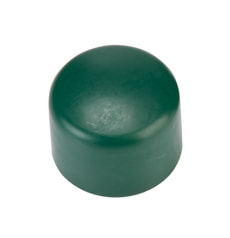 Rohrkappen grün