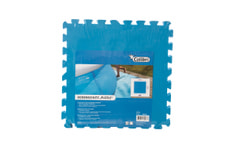 Bodenschutz Platten blau, Set à 9 Stück