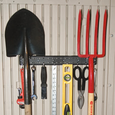 Werkzeug-Haken zu Gartenhaus Lifetime