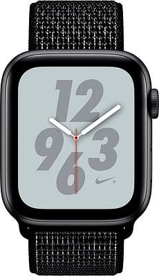 Watch Nike+ 44mm GPS space gray Aluminum Black Nike Sport Loop