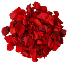 Rosenblätter, rot 150Stk.